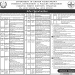 Forestry Environment Wildlife Department Jobs ETEA Roll No Slip Pakistan Forest Institute PFI Peshawar