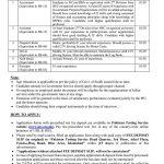 Public Sector Organization Jobs PTS Roll No Slip PSO-GoS (425)