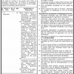 PSPU Primary Secondary Healthcare Department Jobs NTS Roll No Slip IT Specialist Driver
