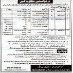 Divisional Forest Officer Wildlife North Waziristan Jobs KPTA Roll No Slip