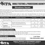 Invigilator Staff Punjab ICT NTPA Candidates Eligible List Noble Testing & Processing Agency