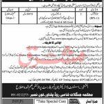 Directorate of Non Timber Forest Products Peshawar Jobs KPTA Roll No Slip Junior Clerk