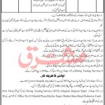 Forest Department Wildlife Division Karak Jobs HTS Roll No Slip