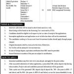 Director General Population Welfare Peshawar KPK Jobs ETEA Result