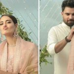 What Did Iqra Aziz Say Yasir Hussain On her First Wedding Anniversary ?
