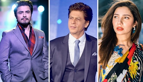 5 Pakistani Stars Works With Bollywood King Shah Rukh Khan