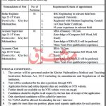 Medical Teaching Institution Abbottabad Jobs NTS Roll No Slip Ayub Teaching Hospital