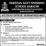 Pakistan Navy Finishing School Karachi Jobs 2021