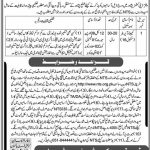 Deputy Commissioner Office Peshawar Jobs Via NTS 2021