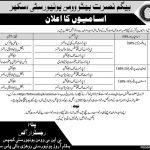 Begum Nusrat Bhutto Women University Sukkur Jobs Govt vacancy 2021
