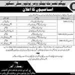 Begum Nusrat Bhutto Women University Sukkur Jobs Interview Schedule Merit List