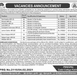 Today Government Jobs Cadet College Kohlu Via CTSP