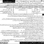 DFO Wildlife Division Chitral Jobs ETES Test Roll No Slip