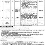Deputy Commissioner Office Abbottabad Jobs ETEA Typing Test Result