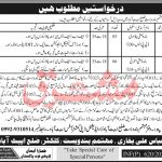 Abbottabad District Collector Office Jobs Test Date Interview Schedule Merit List