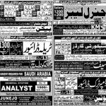 Today Express Newspaper Jobs February 2021 Operators, Drivers, Security Guards, Analyst