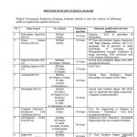 FGEHA Jobs Roll No Slip Test Date Federal Government Employees Housing Authority