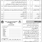 Sindh Today Govt Jobs Forest Wildlife Department 2021