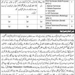 Government Jobs in Pakistan Today Health Department Chitral