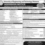 UET Peshawar Master PHD Admission Spring 2021 ETEA Roll No Slip