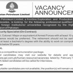Latest Govt Jobs in Pakistan – Pakistan Petroleum Limited PPL