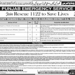 Rescue 1122 Jobs DG Khan PTS Roll No Slip 412 Phase II