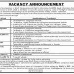 Sindh Information Commission Jobs Government Jobs in Karachi Today 2021