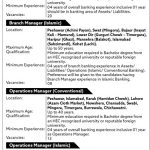Bank of Khyber Branch Manager Operational Manager Interview Schedule Test Date