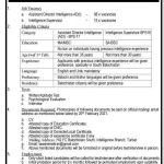 FC Balochistan Jobs Test Date Interview Schedule Merit List Assistant Director Intelligence Intelligence Supervisor