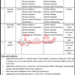 PO Box 123 KPK Peshawar Cantt Jobs
