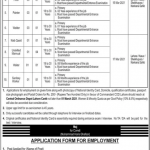 Today Govt Army Ordnance Depot Lahore Cantt Jobs
