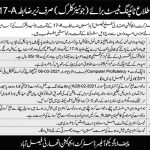 Education Authority Faisalabad Junior Clerk Jobs Test Date Typing Test Result Merit List