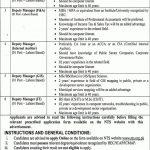 Punjab Municipal Development Fund PMDFC Jobs NTS Roll No Slip