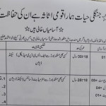 DFO Wildlife Division Buner Jobs ETES Test Roll No Slip