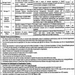 Primary Secondary Healthcare Department Jobs NTS Roll No Slip Prevention & Control of Non-Communicable Diseases