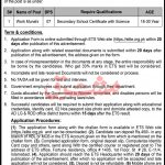 Rural Development Department Bannu Jobs ETS Roll No Slip Work Munshi