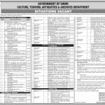 Culture Tourism Antiquities Sindh Jobs STS Roll No Slip Siba Testing Service