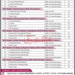 Khyber Medical University Jobs Govt jobs in Peshawar today 2021