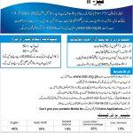 Punjab Laptop Scholarship Phase 2 Session 2021 2022 STSI Roll No Slip