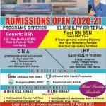 Crescent College of Nursing Kohat Admission BSN RN HTS Result