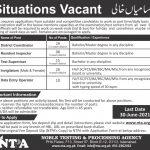 Invigilator Staff Sindh Jobs NTPA Candidates Eligible List Roll No Slip Test Date