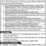 KPITB Khyber Pakhtunkhwa Information Technology Board Jobs Govt jobs in Peshawar today