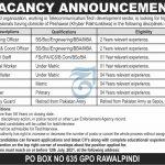 PO Box 635 GPO Rawalpindi Jobs 2021-Today Express Newspaper Jobs