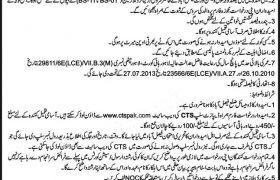 Senior Civil Judge Faisalabad Jobs CTSPAK Roll No Slip