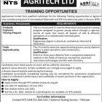 Agritech Ltd Training Opportunities 2021 NTS Result Answer Keys Merit List