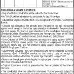 Wapda Phase XIII XIV 467 469 Jobs PTS Roll No Slip Application Status