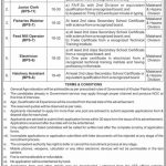 Directorate General of Fisheries DGF KPK Jobs ATS Result Phase 2 Phase 3 18th July 2021