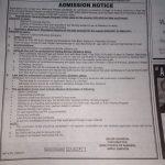 Directorate of Nursing Sindh Karachi DNSK Admission NTS Result Merit List 2021