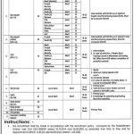 Ministry of Interior Jobs Test Date Interview Schedule Merit List Result Skill Test