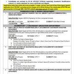 Elementary Secondary Education Asdeos Adeos Jobs KPPSC Result